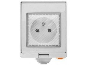 Sonoff S55TPE múdra WiFi zásuvka vonkajší IP55