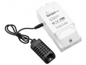 Spínač WiFi Sonoff TH16 230V/10A s funkcí termostatu a hygrostatu