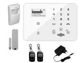 Bezdrôtový GSM alarm King Pigeon K9