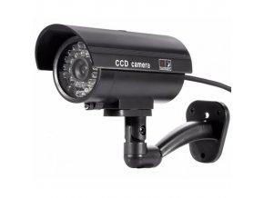 Atrapa kamery IR CCD, vonkajšie čierna, CT