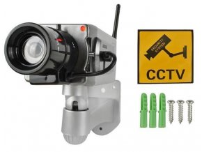 Atrapa kamery IR CCD s detekciou pohybu
