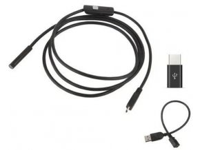 Endoskop - Inšpekčná kamera 7mm, Micro USB, USB, kábel 2m