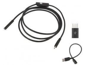 Endoskop - Inspekční kamera 7mm, Micro USB, USB, kabel 2m