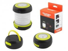 Svietidlo skladacia LED pre camping, napájanie 3x 1,5V AA