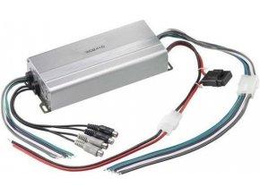 Autozesilovač XC2410 stereo 4x50W alebo 2x100W