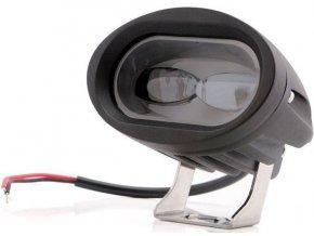 Pracovné svetlo LED 10-30V / 20W diaľkové so šošovkami