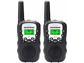 Rádiostanice PMR 446MHz Baofeng BF-T3 - set 2ks