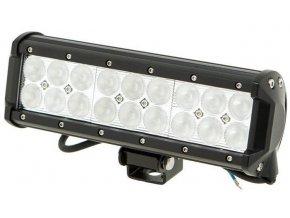 Pracovné svetlo LED rampa 10-30V / 54W, l = 23,5cm, diaľkové so šošovkami