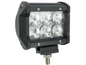Pracovní světlo LED rampa 10-30V/18W, l=10cm, dálkové s čočkami