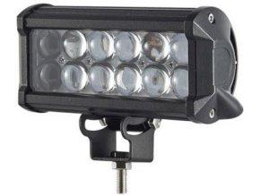 Pracovné svetlo LED rampa 10-30V / 36W l = 16,7cm, diaľkové so šošovkami