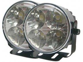 Světla pro denní svícení DRL7R 4xLED 12V/24V