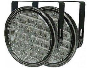 Světla pro denní svícení DRL9R 18xLED 12/24V