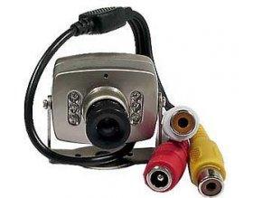 Kamera CMOS so zvukom JK-309, objektív 3,6mm