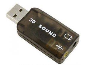 3D zvuková karta so simuláciou 5.1