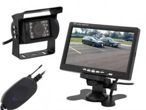 """Bezdrôtová cúvacia kamera s monitorom LCD 7 """", nejde monitor"""
