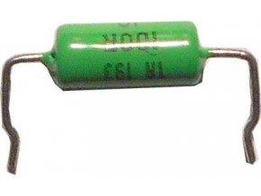 100R TR193, rezistor 1W metaloxid, 5%, skrátené vývody