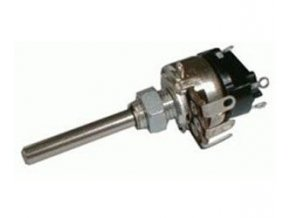 100k / G WN69330 / TP161 / 32A, potenciometer otočný s vypínačom