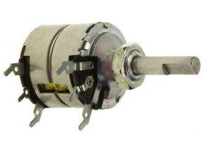 1M0 / N TP283 20B, potenciometer otočný tandemový