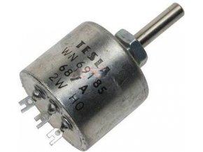 220R / N WN69185, potenciometer drôtový 2W