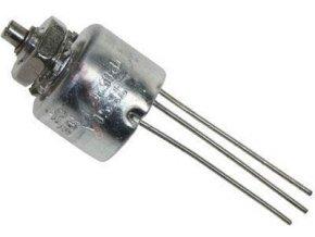 330R / N TP052C 10E, potenciometer otočný Cermetový