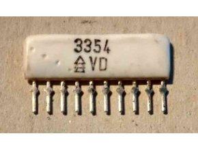 Odporová sieť 3354 z rádiomagnetofónu GERACORD GC6020