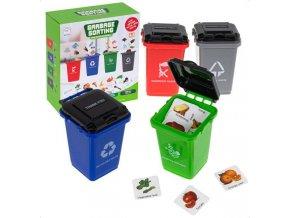 Logická hra triedenie odpadov- GARBAGE SORTING