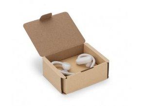 Bezdrátová sluchátka bílá