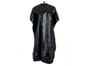 Kadernícky plášť 138x87cm čierny