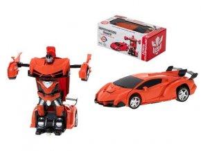 RC auto / robot 2v1 červené