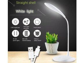 Stolná lampa LED WS-601, nabíjací, napájanie USB