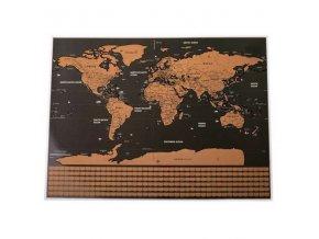 KIK Stieracie mapa sveta 40x30cm, KX 6984