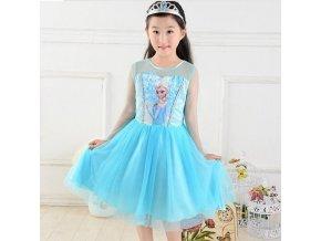 Elsa šaty Frozen Ľadové kráľovstvo, 120 cm