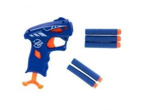 Krátka pištole Blaze Storm NERF + 5 šípok