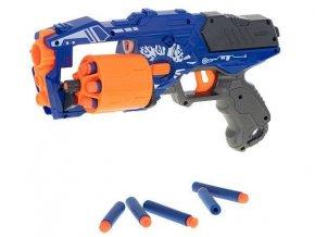 Detská valcová puška Blaze Storm Nerf + 20 šípok