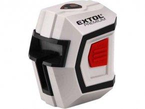 Laser líniový, krížový samonivelačné 1H1V, EXTOL PREMIUM, 8823301