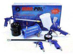 Kompresorová sada 5-dílná MAR-POL, modrá