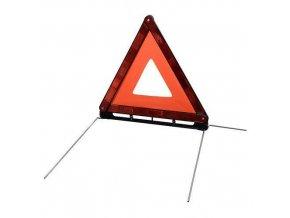 Výstražný trojuholník v plastovom puzdre. homologizácia E
