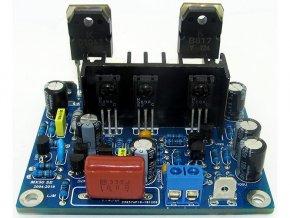 Zosilňovač 2x 100W, 2x modul MX50, STAVEBNICA