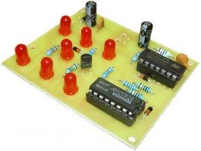 Hracia kocka elektronická červená STAVEBNICA