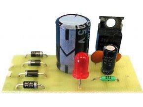 Zdroj stabilizovaný 9V/1A 52x22mm elektronická stavebnica
