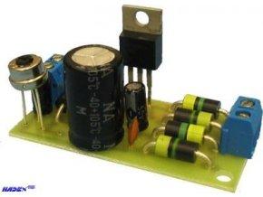 Zdroj stabilizov.regul. 1,25-30V/1,5A elektronická stavebnica
