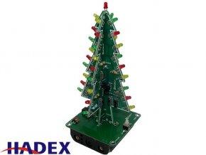 3D vianočný stromček LED, STAVEBNICA