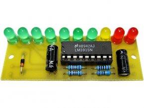 Indikátor vybuzení repro elektronická stavebnica