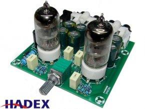 Elektrónkový predzosilňovač stereo - STAVEBNICA