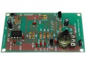 Signálny generátor sínus, delta, obdĺžnik, píla 1kHz s 555
