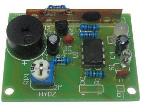 Náklonový a dotykový alarm - elektronická stavebnica