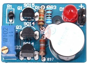 Teplotní alarm - elektronická stavebnica