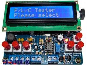 R-L-C tester s displejom LCD1602