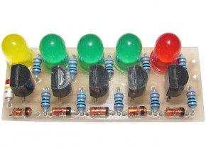 Kontrola zdrojové části auta elektronická stavebnica