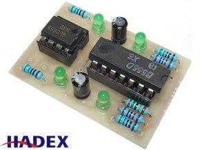 Tester časovačů NE555 a NE556 elektronická stavebnica